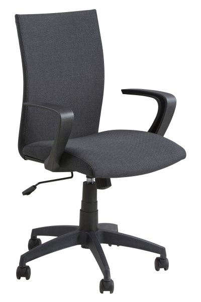 Bureaustoel Open donkergrijs