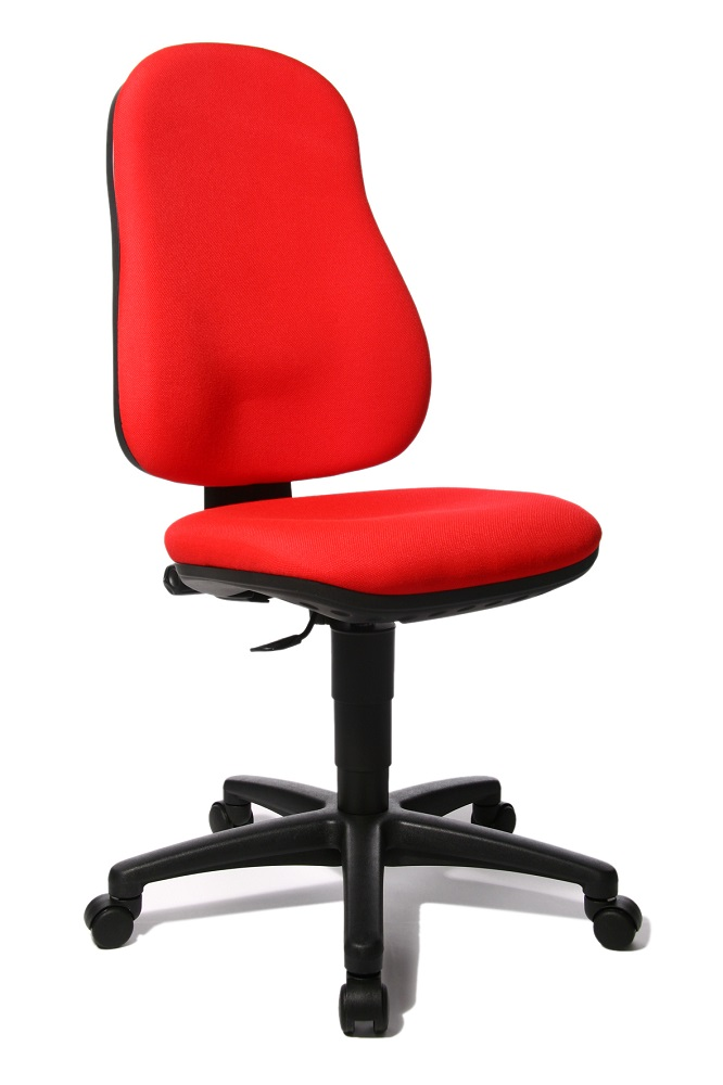 Bureaustoel Point 50 rood