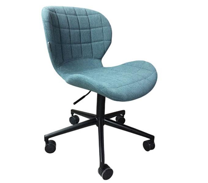 Zuiver OMG bureaustoel-Blauw