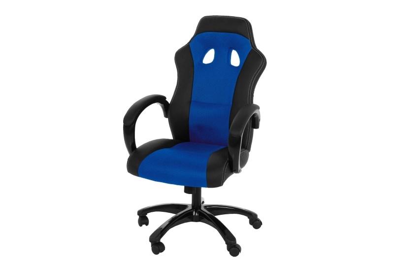 Bureaustoel Sport blauw