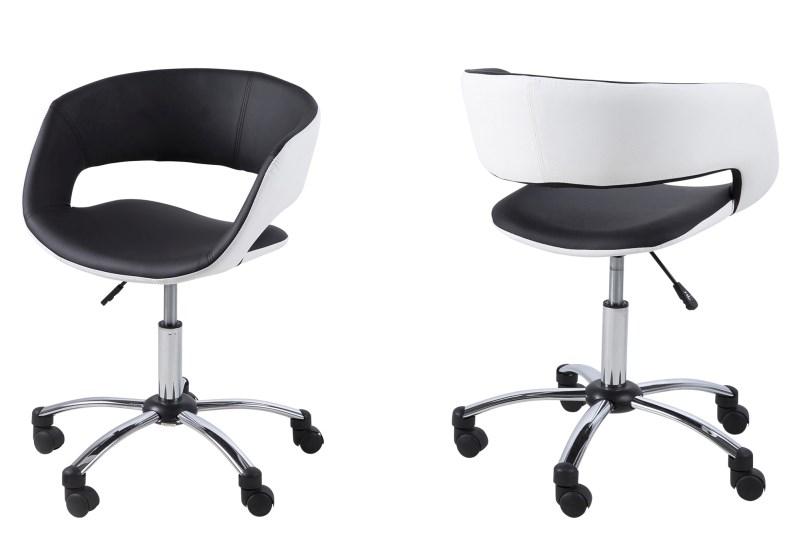 Bureaustoel Pure zwart