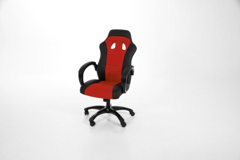 Bureaustoel Sport rood