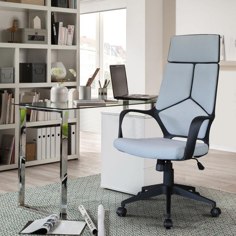 Bureaustoel Tom grijs