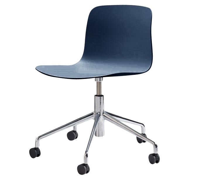 HAY About a Chair AAC50 gasveer bureaustoel-Blauw