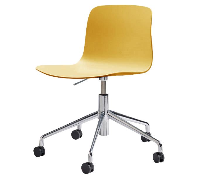 HAY About a Chair AAC50 gasveer bureaustoel-Mosterd
