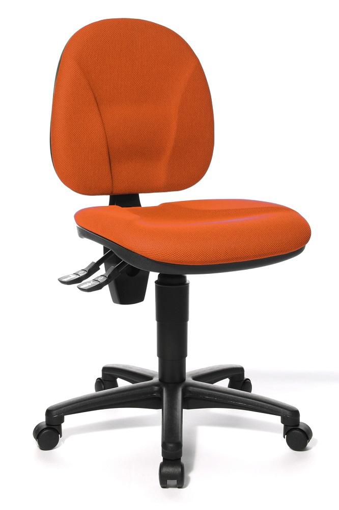 Bureaustoel Point 10 – Donker Oranje