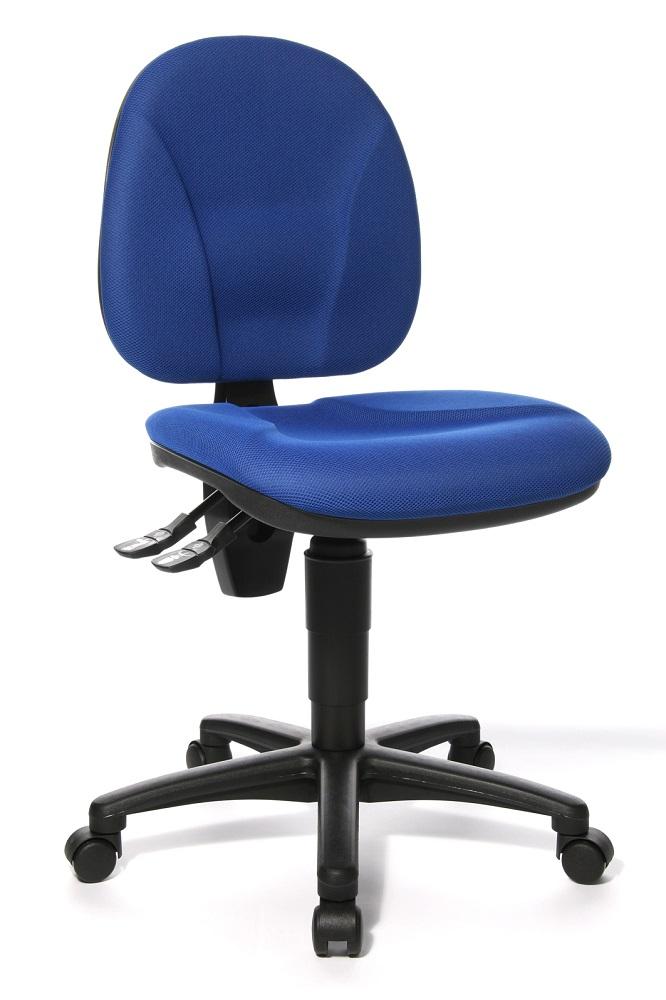 Bureaustoel Point 10 – Blauw